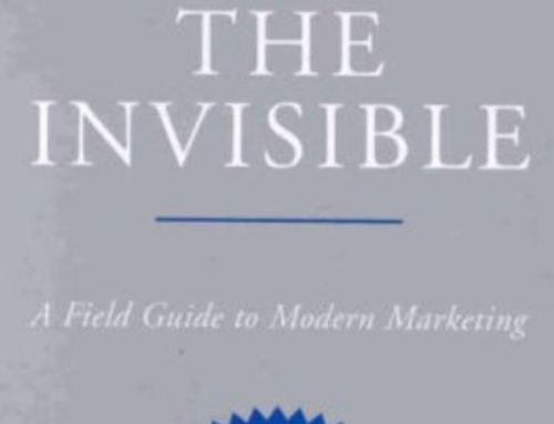 You are Invisible.  How do you sell that?